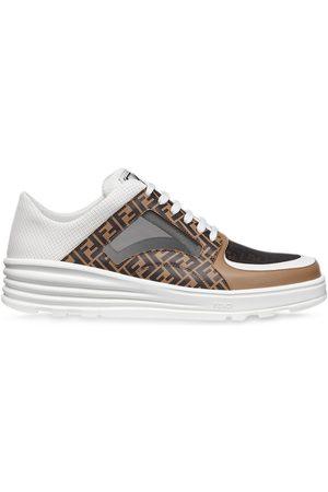 Fendi Sneakers mit FF-Muster