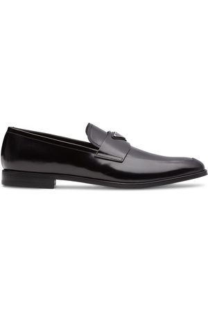 Prada Logo-plaque loafers