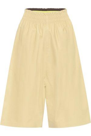 Bottega Veneta Damen Leder & Lederimitathosen - Shorts aus Leder