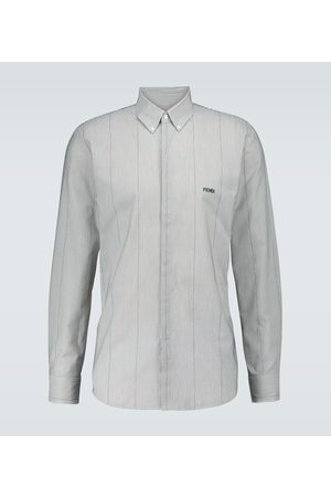 Fendi Gestreiftes Hemd aus Baumwolle