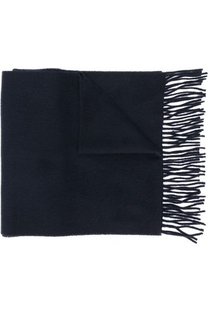 Yves Saint Laurent Woven fringed scarf
