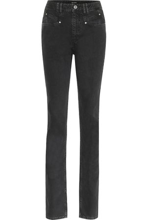 Isabel Marant High-Rise Slim Jeans Nominic
