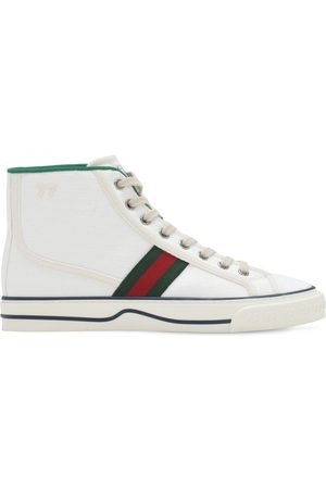 "Gucci 10mm Hohe Canvassneakers "" Tennis 1977"""