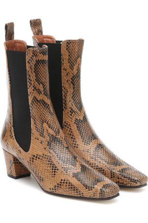 PARIS TEXAS Ankle Boots aus Leder