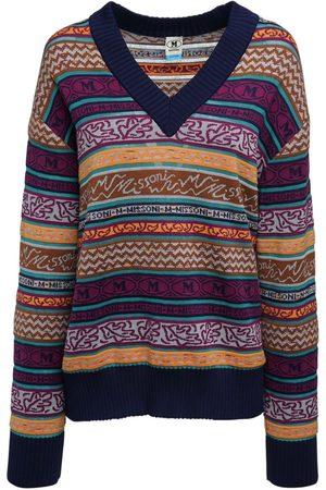M Missoni Pullover Aus Baumwollmischung Mit Logo