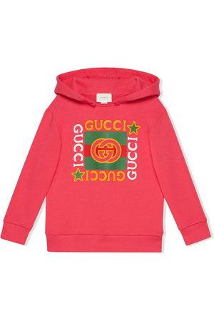 Gucci Kapuzenpullover mit Logo-Print