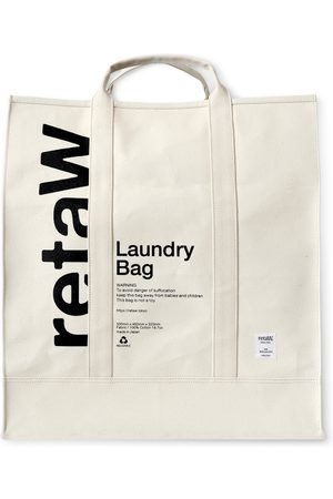 Reta Printed Cotton-Canvas Laundry Bag