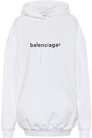 Balenciaga Bedruckter Hoodie aus Baumwolle