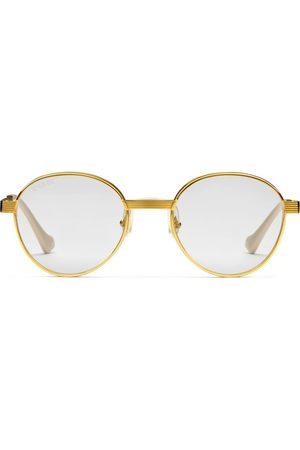 Gucci Herren Sonnenbrillen - Sonnenbrille mit rundem Rahmen