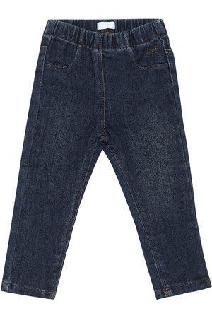 Il gufo Baby Jeans aus Stretch-Baumwolle