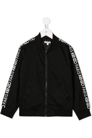 Kenzo Logo-tape bomber jacket