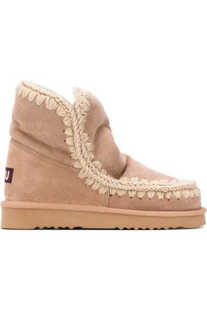 Mou Damen Stiefeletten - Gefütterte Snow-Boots