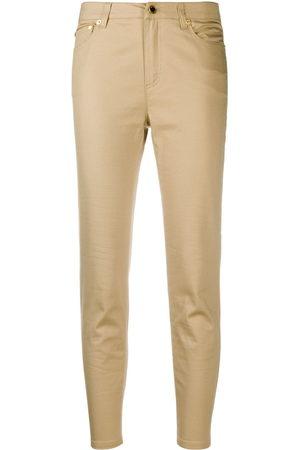 Michael Kors Mid-rise skinny jeans - Nude