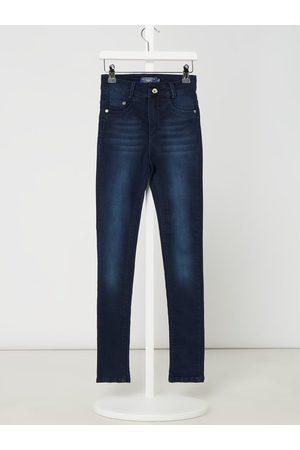 Blue Effect Slim Fit High Waist Jeans mit Stretch-Anteil
