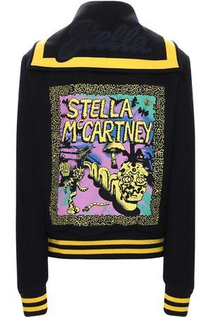 Stella McCartney Collegejacke Aus Wolle Mit Logo