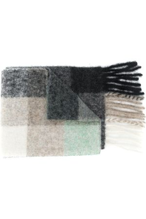 Acne Studios Multi check scarf