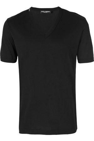 Dolce & Gabbana T-Shirt mit V-Ausschnitt