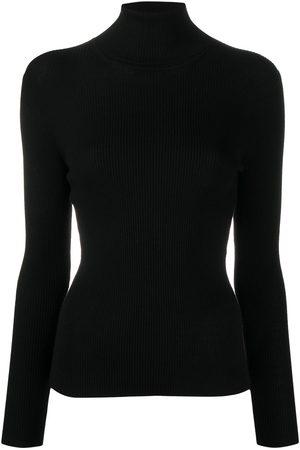 P.a.r.o.s.h. Damen Strickpullover - Gerippter Pullover
