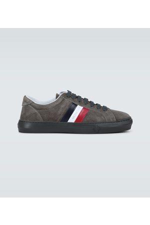 Moncler Veloursleder-Sneakers New Monaco