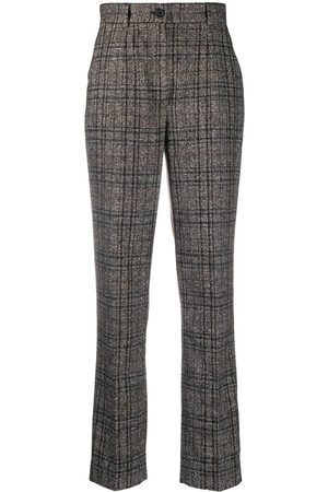 Dolce & Gabbana Tweed check tailored trousers