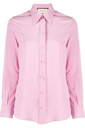 Gucci Crêpe de Chine silk shirt