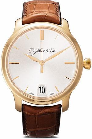 H. Moser & Cie Pioneer Monard' Armbanduhr, 41mm - SILVER