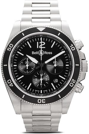 Bell & Ross BR V3-94' Chronograph, 43mm - BLACK