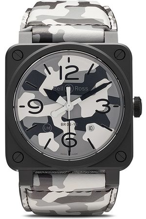 Bell & Ross BR 03-92' Armbanduhr, 42mm - GREY AND WHITE