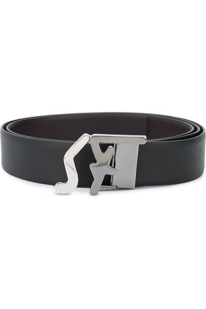 Salvatore Ferragamo Logo buckle belt