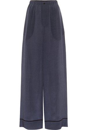 Fendi Pyjama-Hose aus Seide