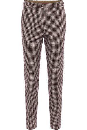 Etro Hose aus Baumwolle und Wolle