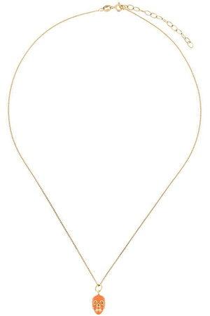TRUE ROCKS Halskette mit Totenkopfanhänger