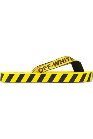 OFF-WHITE Diagonal stripes flip flop