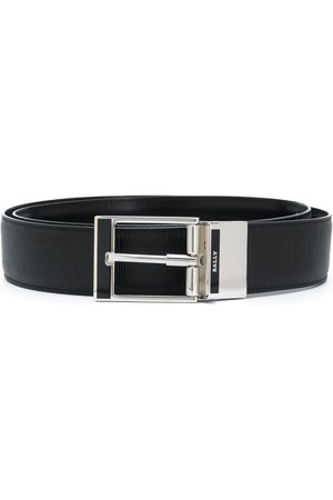 Bally Silver buckle belt
