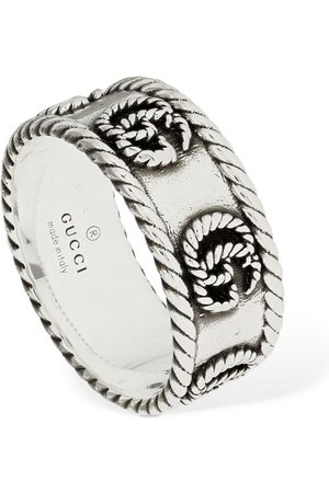 """Gucci 9mm Dicker Ring """"gg Marmont"""""""