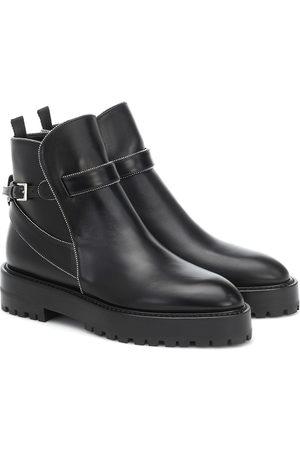 Alaïa Damen Stiefeletten - Ankle Boots aus Leder