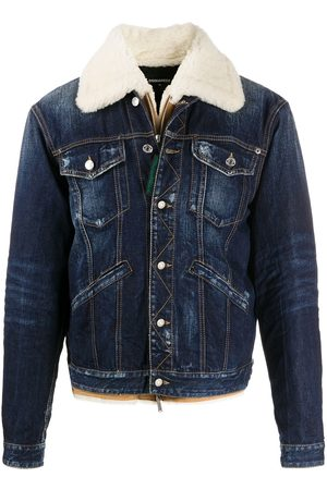 Dsquared2 Jeansjacke in Distressed-Optik