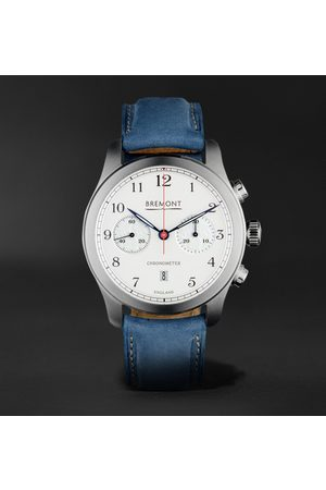 Bremont ALT1-C Rose Automatic 43mm Stainless Steel and Nubuck Watch