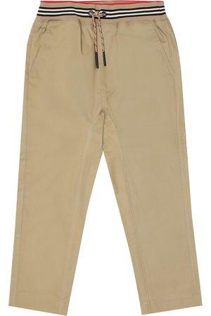 Burberry Hose aus Baumwoll-Twill