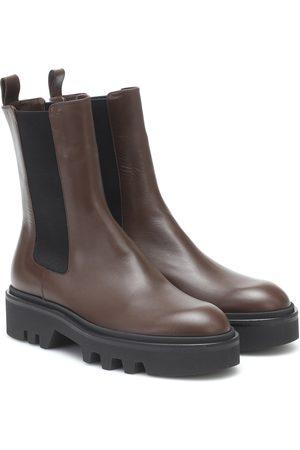 DRIES VAN NOTEN Chelsea Boots aus Leder
