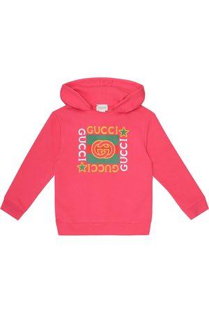 Gucci Bedruckter Hoodie aus Baumwolle
