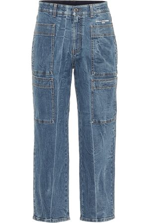 Stella McCartney High-Rise Cropped Jeans