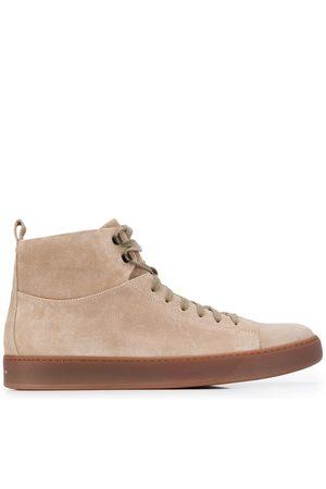 HENDERSON BARACCO High top zipped sneakers - Nude
