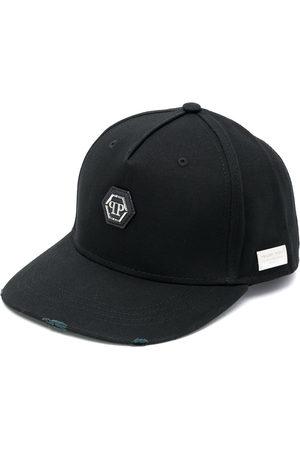 Philipp Plein Logo embroidered baseball cap