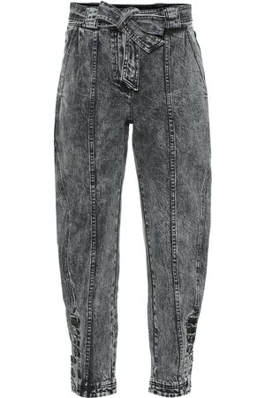 ULLA JOHNSON High-Rise Cropped Jeans Carmen