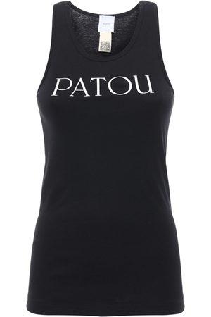 Patou Tanktop Aus Baumwolle Mit Logodruck