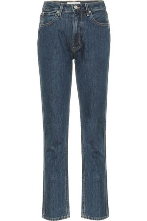 SLVRLAKE High-Rise Slim Jeans Virginia