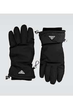 Prada Handschuhe mit Logo