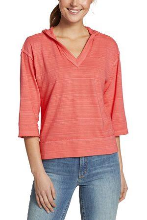 Eddie Bauer Damen Shirts - Go-to Shirt - 3/4-Arm Damen Gr. XS