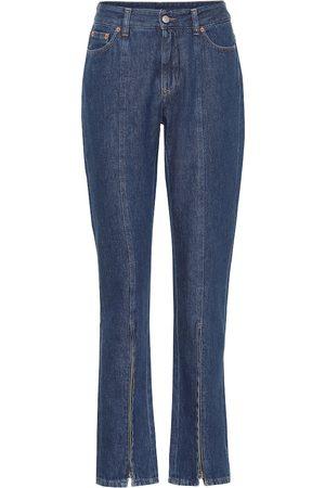 MM6 MAISON MARGIELA High-Rise Slim Jeans